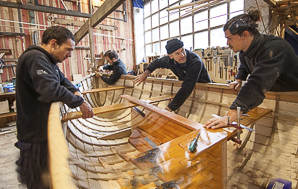 BOATBUILDING SCHOOL